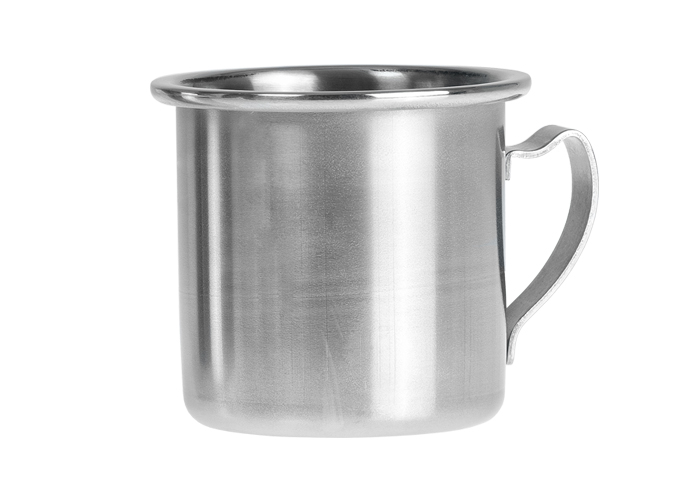 1697 - Mug in inox 30 cl. satinata